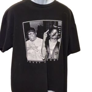 """90's Tupac and Notorious BIG """"Trust Nobody"""" Shirt"""